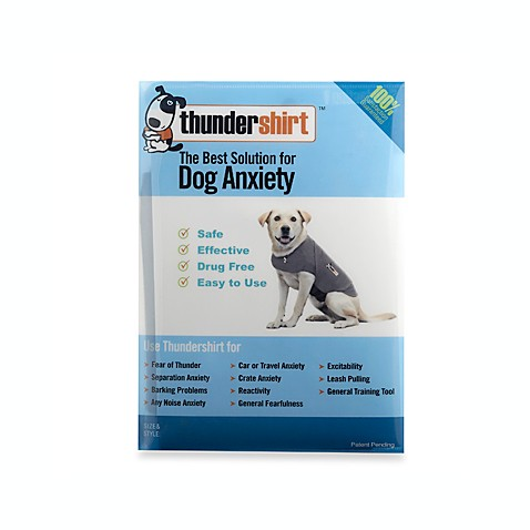 Thundershirt™ Grey Dog Anxiety Treatment Shirt