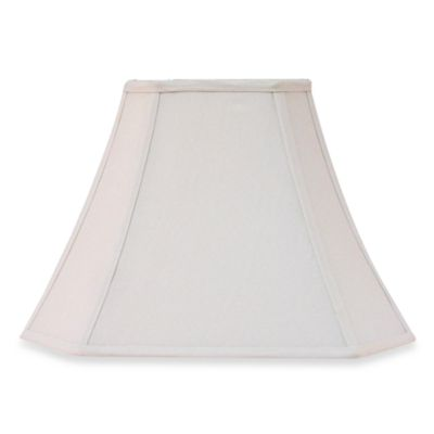 Square Ivory 11-Inch Fabric Lamp Shade
