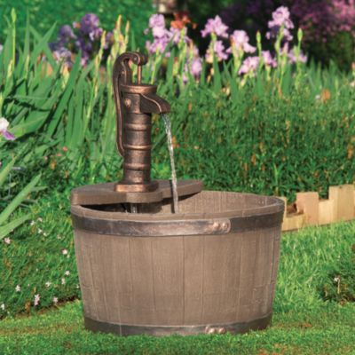 Little Giant® Whiskey Barrel Classic Fountain