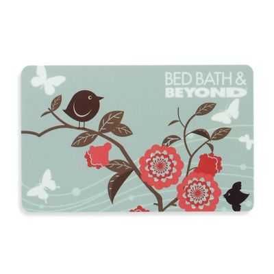 $25.00 Gift Card in Pink Flowers