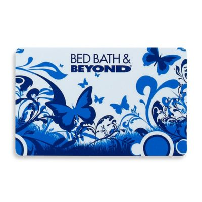 Blue Butterfly Gift Card $50