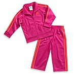 Adidas® Kids 2-Piece Tracksuit in Hot Pink