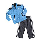 Adidas® Kids 2-Piece Blue/Grey Tracksuit Set