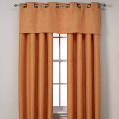 Reina 108-Inch Grommet Window Panel in Spice