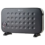 Crane Convection Compact Heater in Black