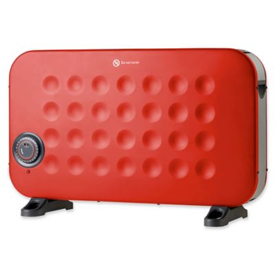 Crane Convection Compact Heater in Red