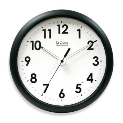 Black Decorative Clocks