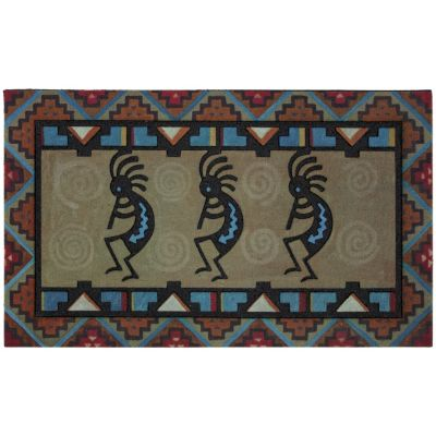 Kokopelli Door Mat
