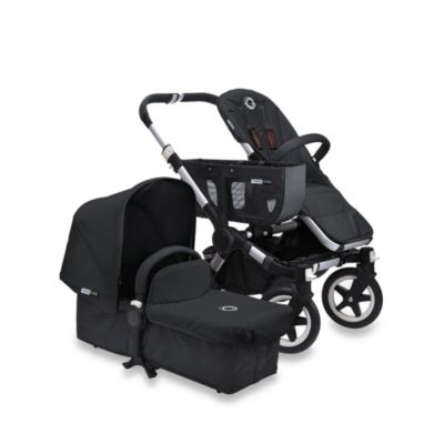 Bugaboo Donkey Tailored Fabric Set in Black