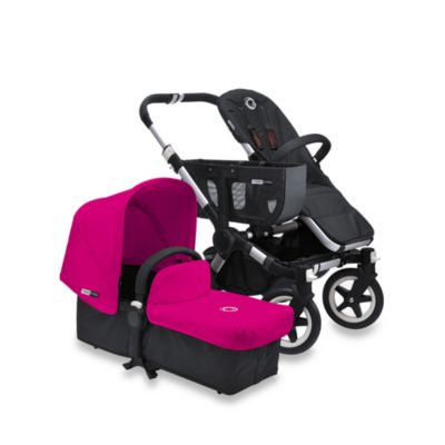 Bugaboo Donkey Tailored Fabric Set in Pink