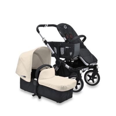 Bugaboo Donkey Tailored Fabric Set in OffinWhite