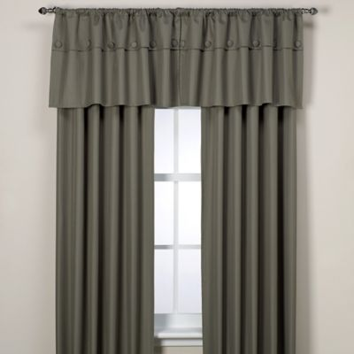 Orlando Kid Pale Blue Insulated Window Valance
