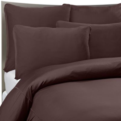 SHEEX® Performance Bedding Twin Duvet Cover Set in Espresso