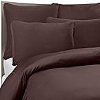 SHEEX® Performance Bedding Duvet Cover Set in Espresso