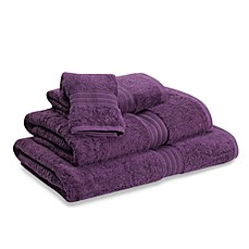 Egyptian Hand Towel in Grape