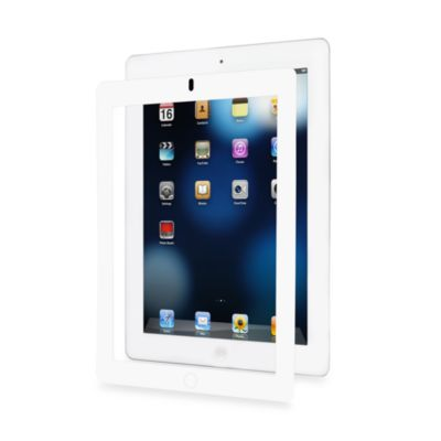 AG for iPad2® and New iPad Screen Protector in White