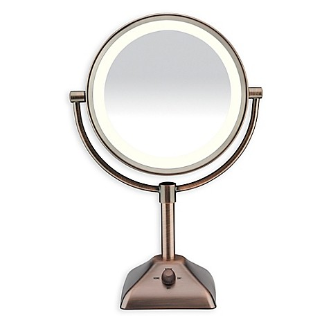 Conair 174 Variable Lighted 1x 10x Mirror In Oil Rubbed