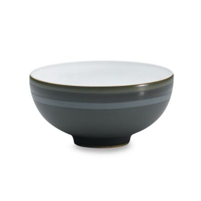 Denby Jet Stripes 5-Inch Rice Bowl