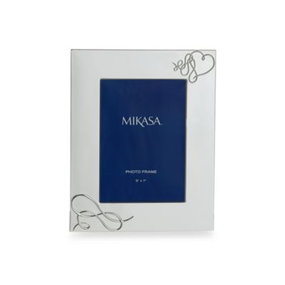 Mikasa® Love Story 5-Inch x 7-Inch Photo Frame