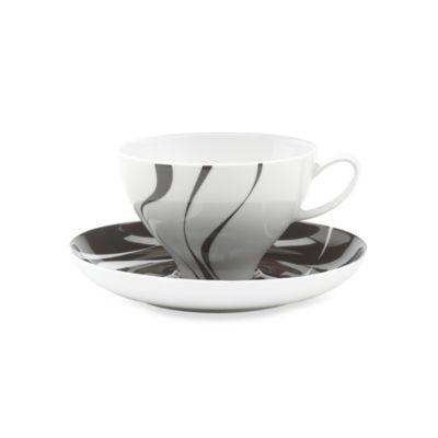 Mikasa® Jazz 10-Ounce Tea Cup & Saucer