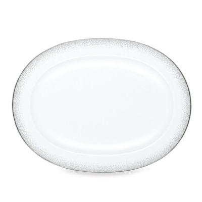 Noritake® Alana Platinum 14-Inch Oval Platter