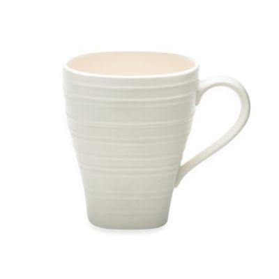 Swirl 16-ounce Mug in White