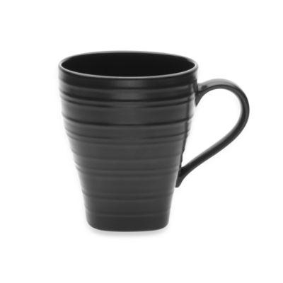 Mikasa® Swirl Square 16 oz. Mug in Black