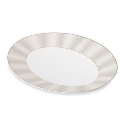 Nikko Silk Platinum 15 1/2-Inch Oval Platter