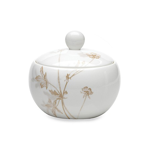 Mikasa® Floral Mist 3 3/4-Inch Covered Sugar Bowl
