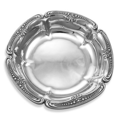 Polished Silver Salad Set