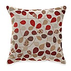 Bayberry Rouge 20-Inch Square Toss Pillow