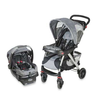 Evenflo® EuroTrek™ Car Seat Travel System in Grey Racer