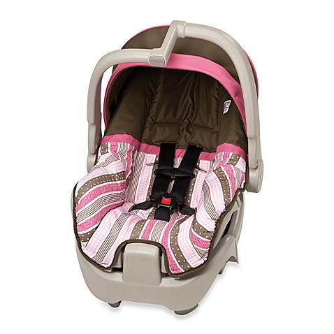 evenflo discovery 5 infant car seat georgia stripe pink bed bath beyond. Black Bedroom Furniture Sets. Home Design Ideas