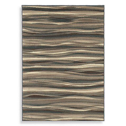 Shaw Flowing Light Multi 5-Foot 3-Inch x 7-Foot 10-Inch Rug