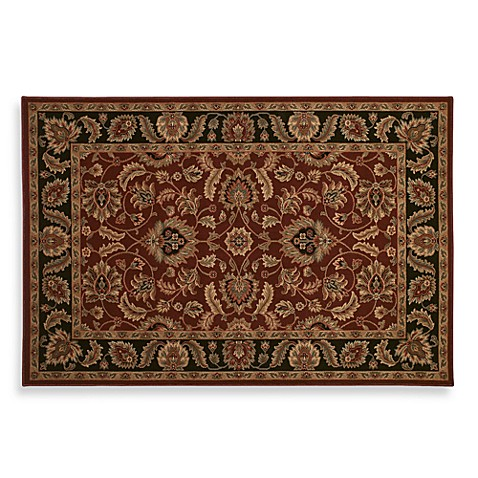 Shaw antiquities kashan garnet rug bed bath beyond - Shaw rugs discontinued ...