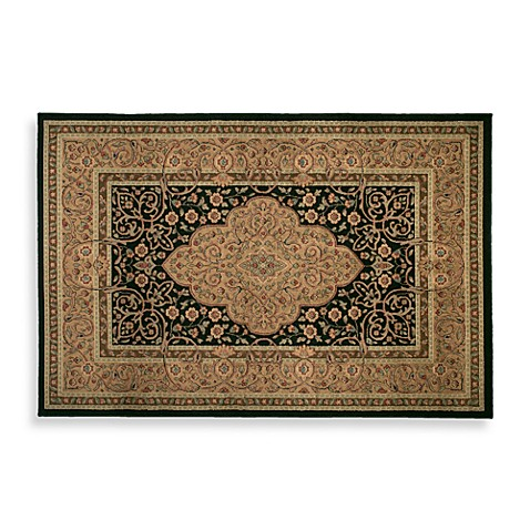 Shaw Midnight Garden 5-Foot 3-Inch x 7-Foot 10-Inch Room Size Rug