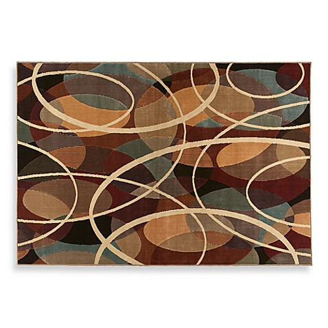 Shaw Ozone Multicolor Graphic Rug