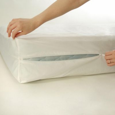 BedCare™ by National Allergy® Cotton Allergy 9-Inch Twin Extra Long Mattress Protector