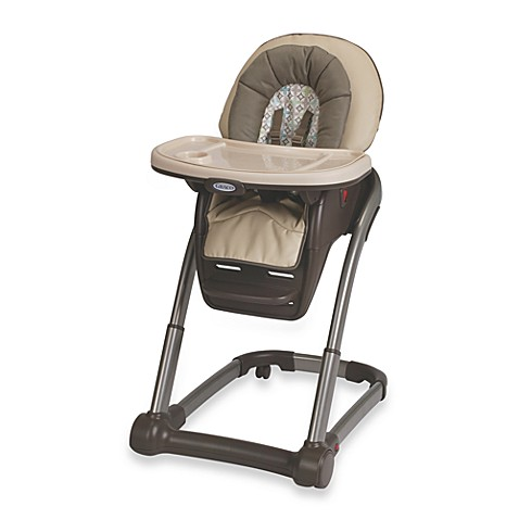 Graco® Blossom™ 4- in -1 High Chair Seating Cushion System in Astoria