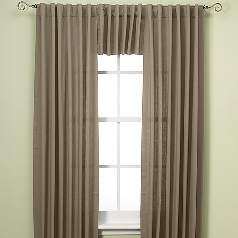 Henley Room Darkening Thermal Lined Rod Pocket/Back Tab Window Valance