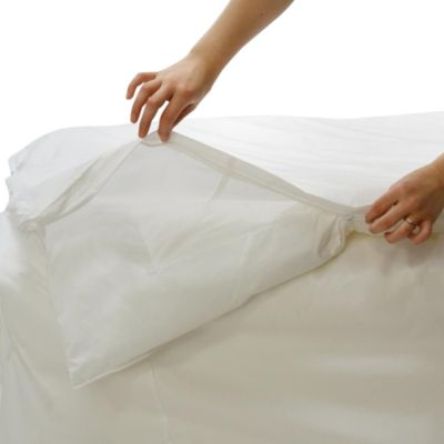 BedCare™ by National Allergy® Cotton Allergy Twin Comforter Cover
