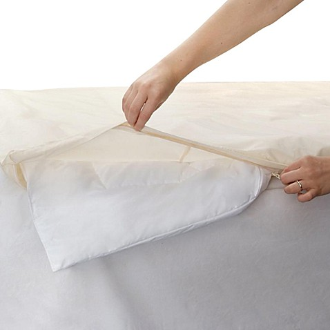 BedCare™ by National Allergy® 100% Organic Cotton Comforter Cover