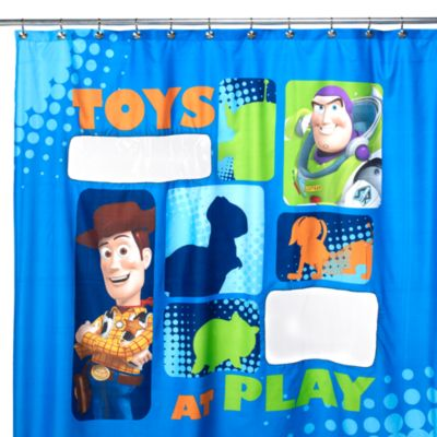 Disney Pixar Toy Story 72-Inch x 72-Inch Shower Curtain