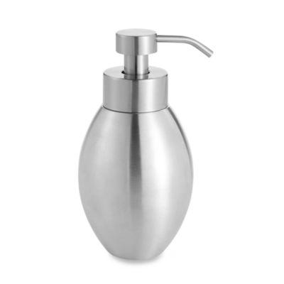 Brushed Nickel Foaming Soap Dispenser