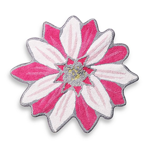 Disney Princess Flower Shaped Bath Rug