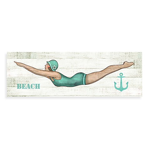 Bathing Beauties Beach Wall Art