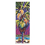 Palm Panel Purple Wall Art