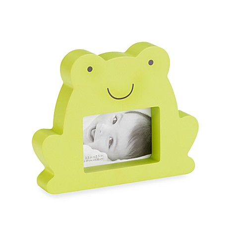C.R. Gibson® Green Frog Photo Frame