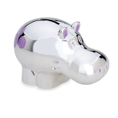 Reed & Barton® Jungle Parade Hippo Bank