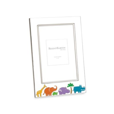 Reed & Barton® Jungle Parade 4-Inch x 6-Inch Picture Frame